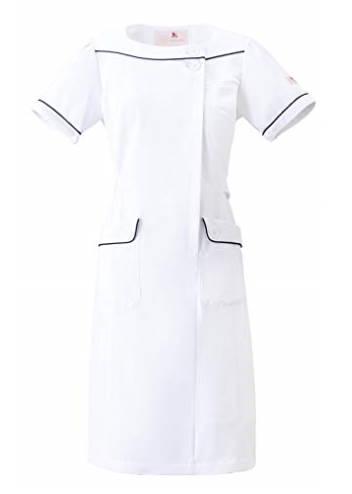 女性薬剤師向けの白衣ワンピース