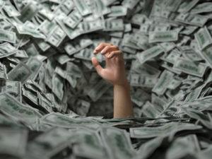 稼ぐのは悪いことではないが、お金に溺れないように!